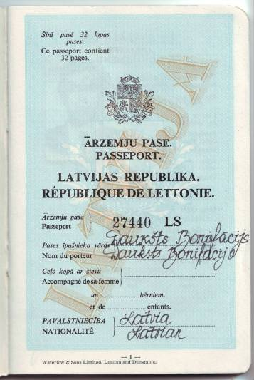 """Attēlu rezultāti vaicājumam """"ārzemju pase bonis.lv"""""""
